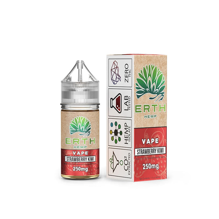 ERTH CBD 250mg  - Strawberry Kiwi | Vape Juice 30ml