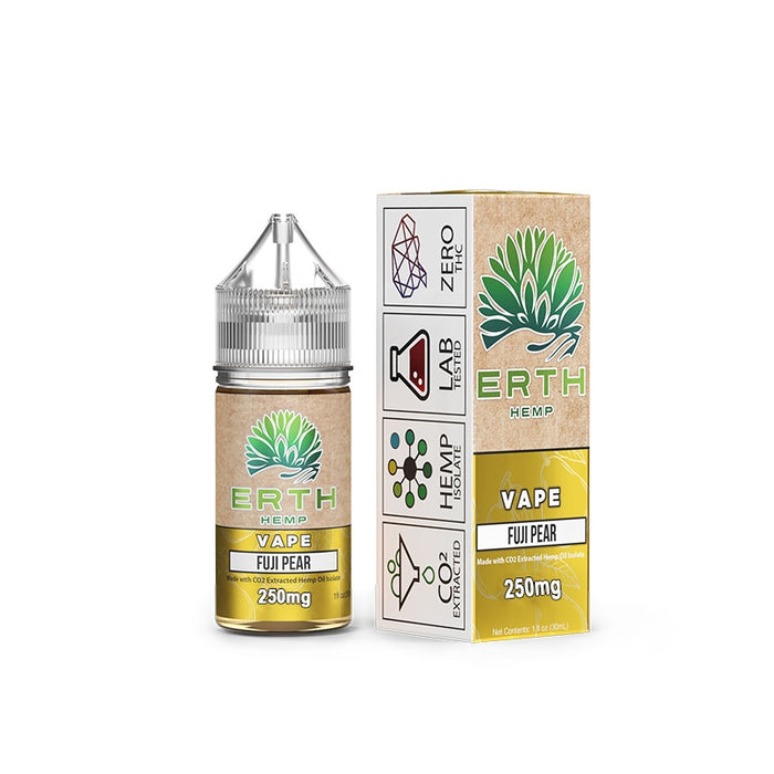 ERTH CBD 250mg  - Fuji Pear | Vape Juice 30ml