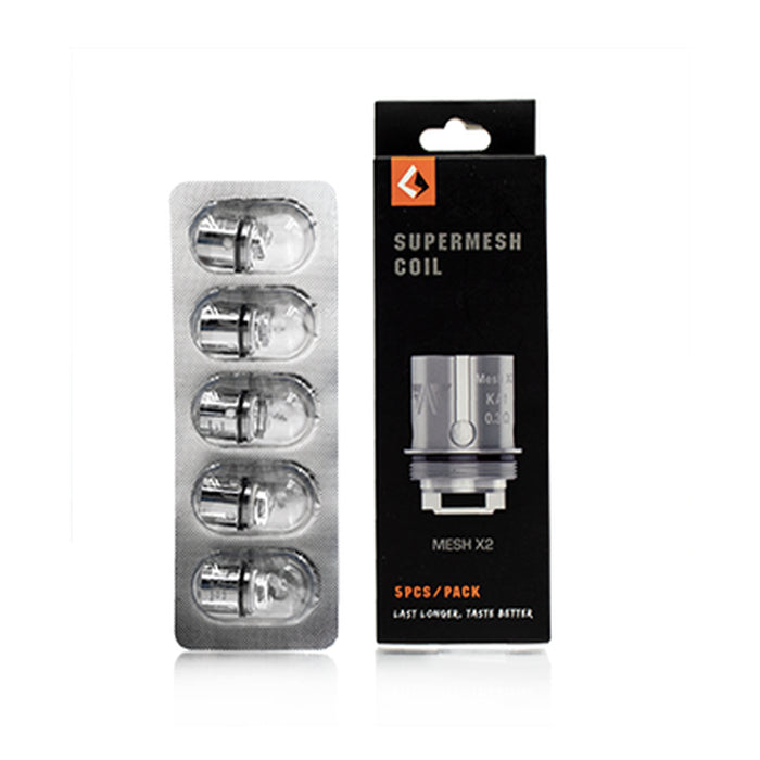 Geekvape Supermesh Mesh X2 0.3ohm Coils 5Pack