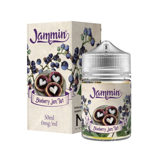 Blueberry Jam Tart Eliquid 50ml By Jammin Vape Co (Nicotine not included)   - Cheap Quality Eliquid, Vape Juice. Zapp Vape Cardiff UK. Zapp Ecigs Cardiff UK.  E-cigs Cardiff. Vaping Cardiff
