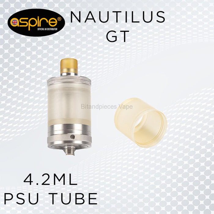 Aspire Nautilus GT 4.2ml extended poly tube