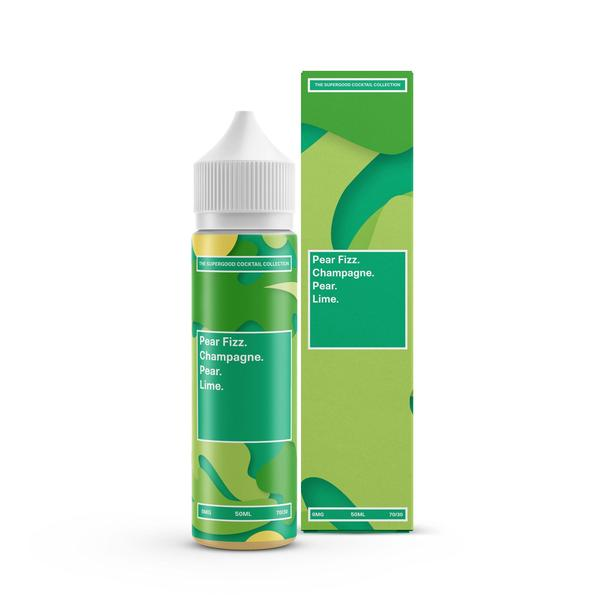 Pear Fizz Eliquid by Supergood. 50ml (Nicotine not included)  - Cheap Quality Eliquid, Vape Juice. Zapp Vape Cardiff UK. Zapp Ecigs Cardiff UK.  E-cigs Cardiff. Vaping Cardiff