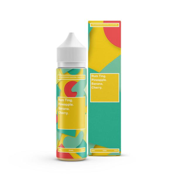 Rum Ting Eliquid by Supergood. 50ml (Nicotine not included)   - Cheap Quality Eliquid, Vape Juice. Zapp Vape Cardiff UK. Zapp Ecigs Cardiff UK.  E-cigs Cardiff. Vaping Cardiff