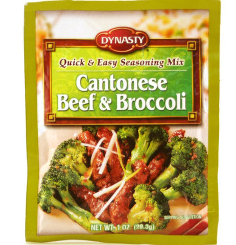 Dynasty Cantonese Beef & Broccoli Seasoning Mix
