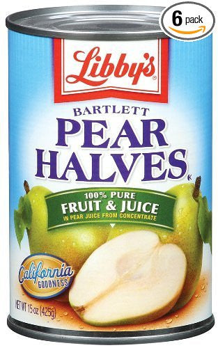 Pure Pear Halves