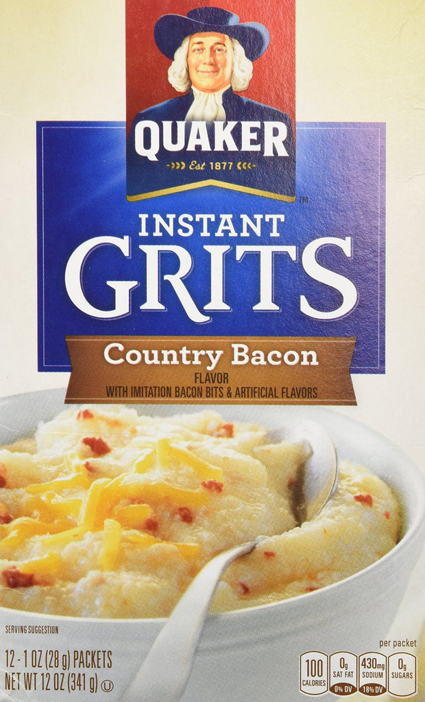 Instant Grits - Country Bacon Flavor