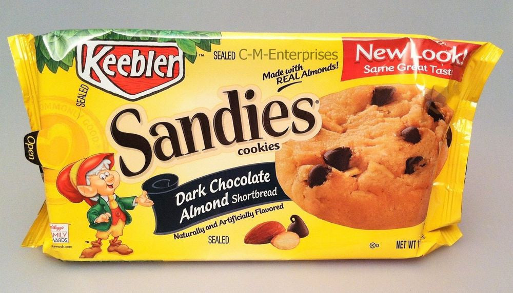 Dark Chocolate and Almond Sandies