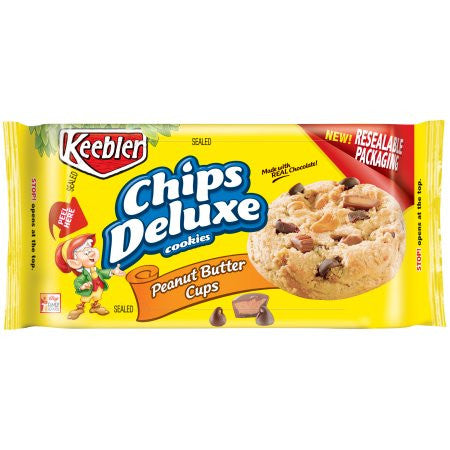Chips Deluxe Cookies - With Peanut Butter Cups