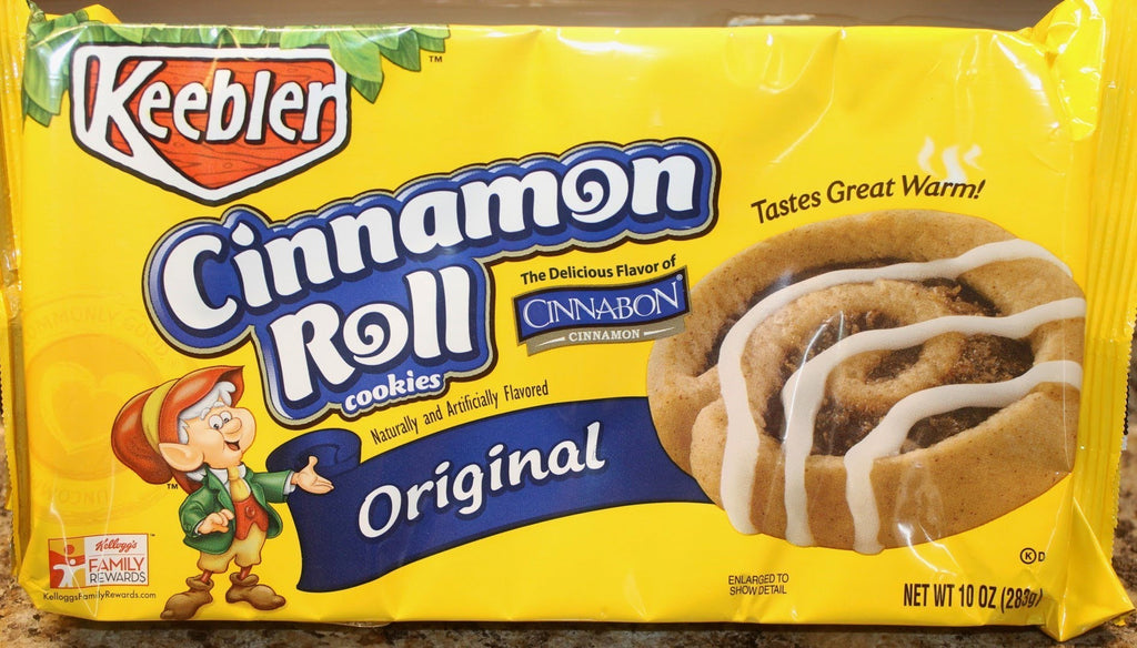Cinnamon Roll Cookies - Caramel Pecan Flavored
