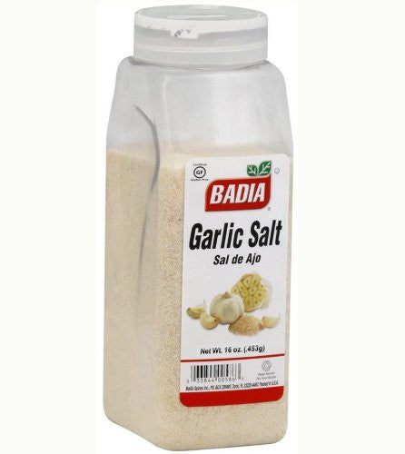 Garlic Salt - 16 ounces