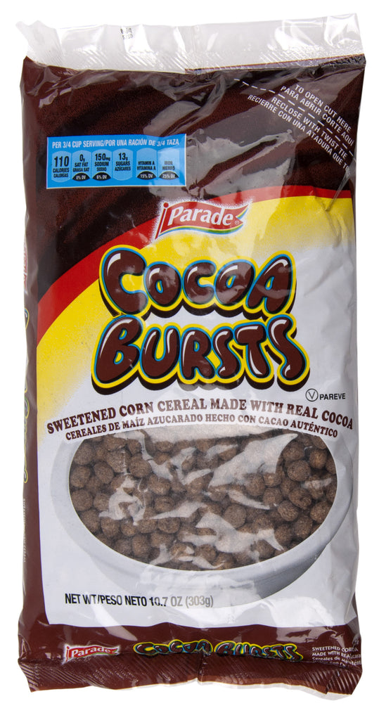 Cocoa Bursts Cereal 10.7 ounces