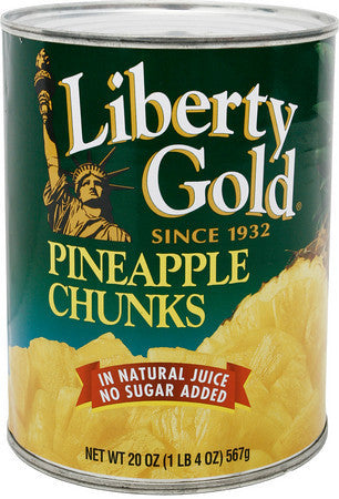 Gold Pineapple Chunks