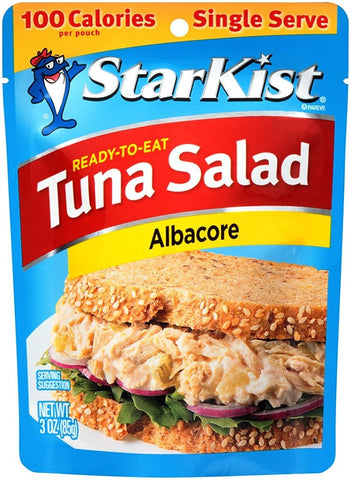 Ready-to-Eat Tuna Salad Albacore (Pouch)