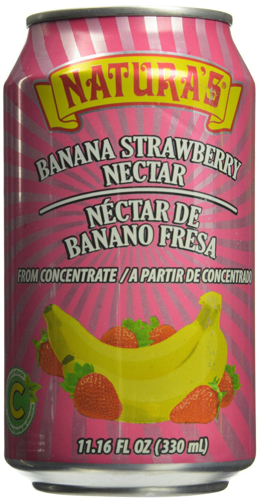 Banana Strawberry Nectar - 11.6 ounces
