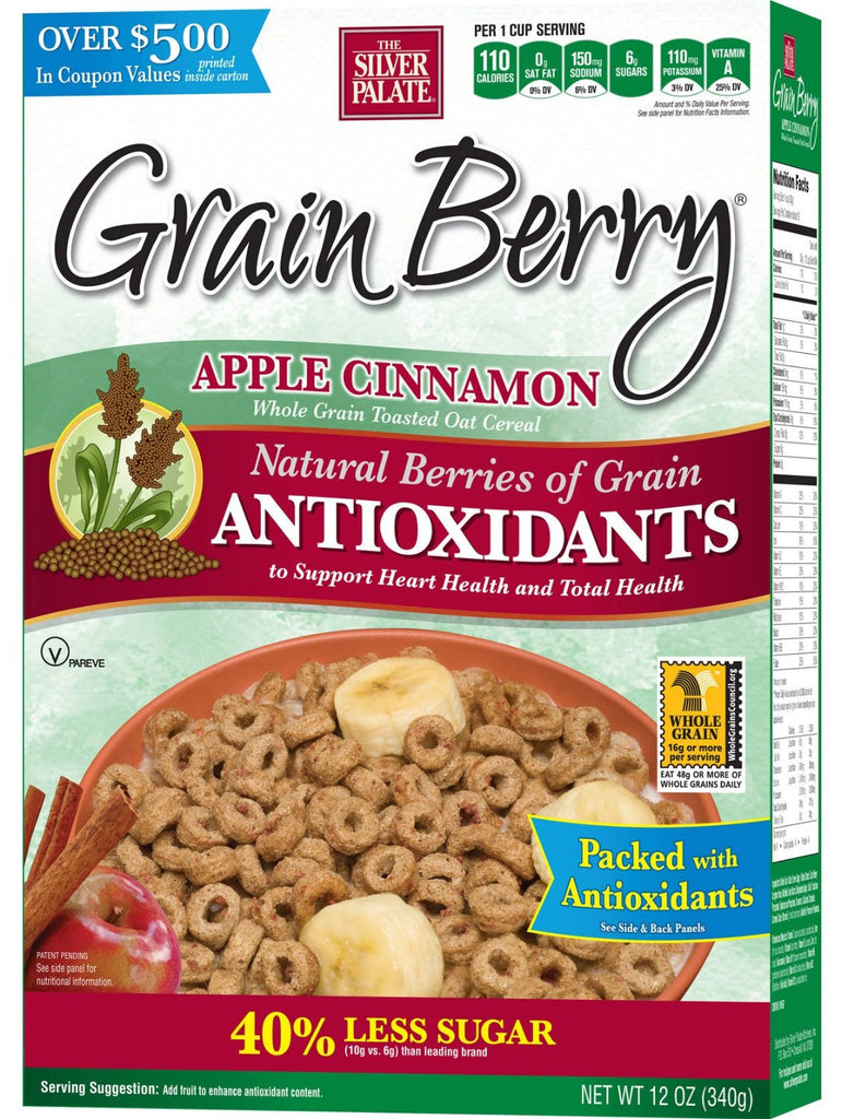 Green Berry, Apple Cinnamon Cereal