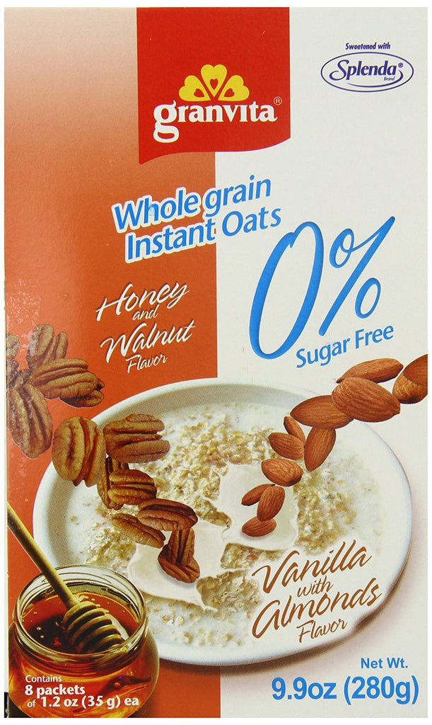 Instant Oatmeal - Honey with Nuts
