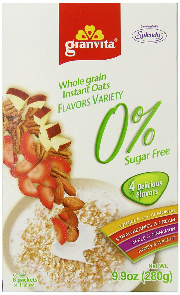 Instant Oats - 4 Flavors