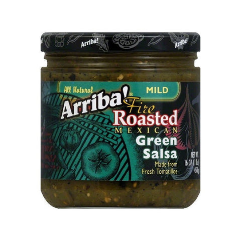 Arriba Fire Roasted Green Salsa, Mild