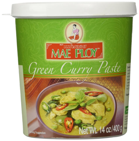 Mae Ploy Green Curry Paste - Pacific Rim Gourmet
