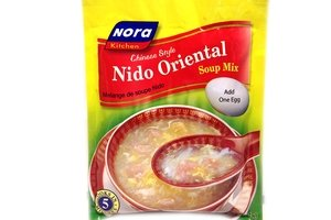 Nora Kitchen Chinese Style Nido Oriental Soup Mix (Pack of 6)