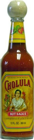 Cholula Hot Sauce From Mexico, 12 oz. - Pacific Rim Gourmet