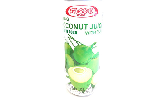 Tasco Young Coconut Juice with Pulp - Pacific Rim Gourmet