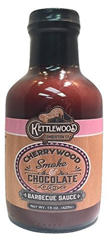 Kettlewood Combustion Barbecue Sauce Cherrywood Smoke & Chocolate