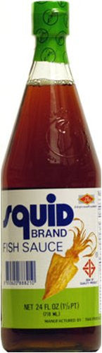 Squid Brand Fish Sauce - Pacific Rim Gourmet
