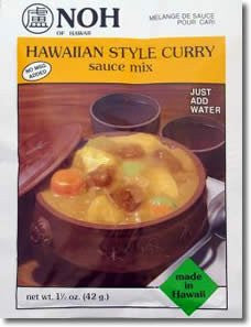 NOH Hawaiian Style Curry Sauce Mix - Pacific Rim Gourmet