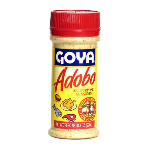 Goya Adobo with Pepper - 8 oz. - Pacific Rim Gourmet