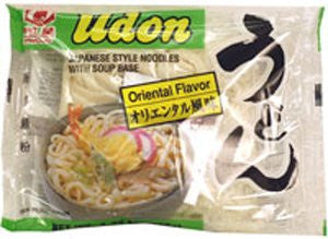 Udon Japanese Style Noodles with Soup Base - Oriental Flavor - Pacific Rim Gourmet