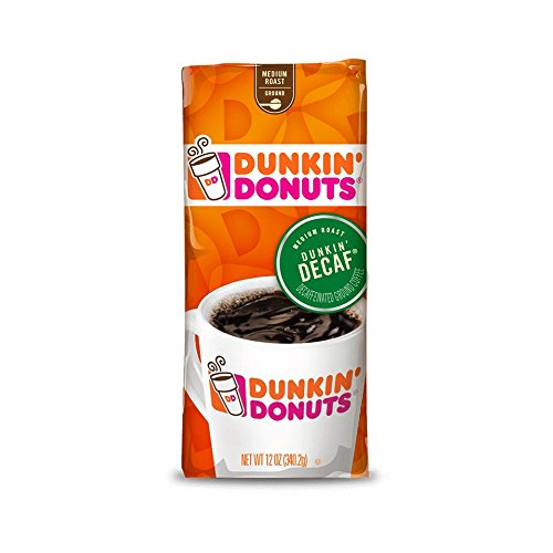 Dunkin Donuts Decaffeinated Ground Coffee