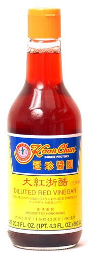 Koon Chun Diluted Red Vinegar - 20.3 oz. - Pacific Rim Gourmet