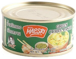 Maesri Green Curry Paste - Pacific Rim Gourmet