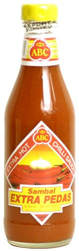 ABC Indonesian Extra Hot Chili Sauce - Sambal Extra Pedas - Pacific Rim Gourmet