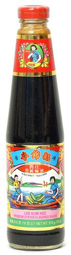 Lee Kum Kee Premium Oyster Sauce, 18 oz. - Pacific Rim Gourmet