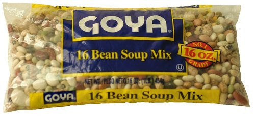 Goya 16 Bean Soup Mix - Pacific Rim Gourmet