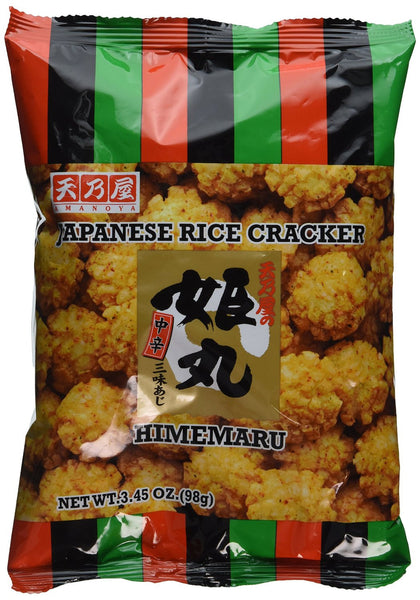 Amanoya Himemaru Japanese Rice Cracker