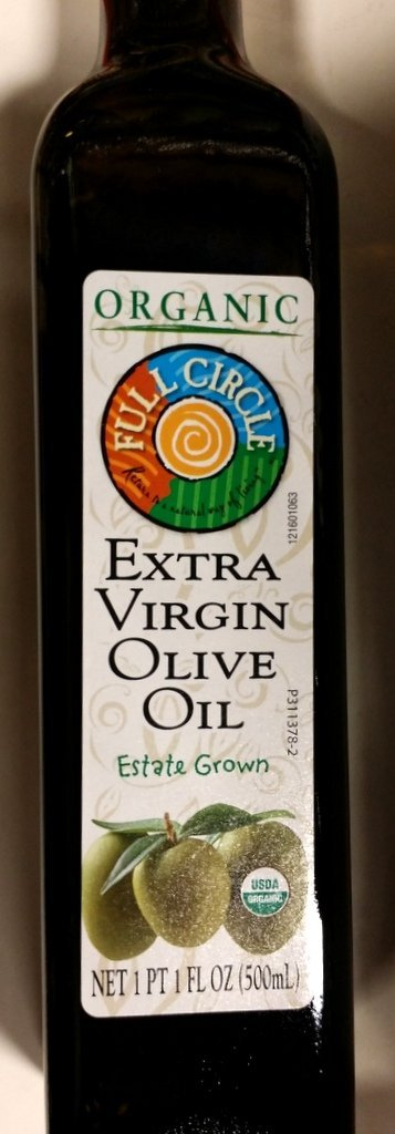 Full Circle Organic Extra Virgin Olive Oil