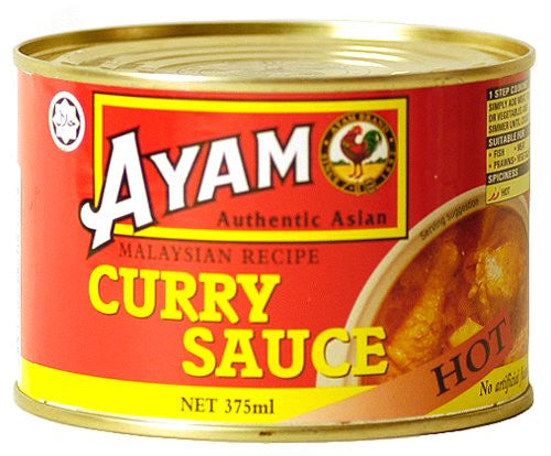 Ayam Curry Sauce - Hot - Pacific Rim Gourmet