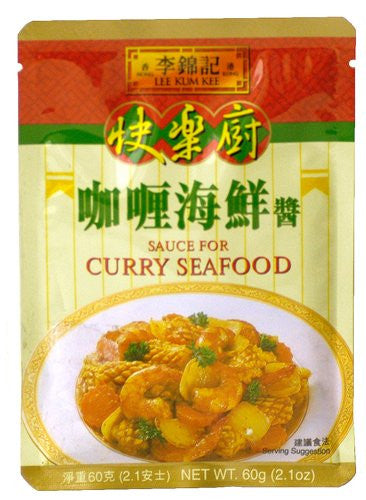 Lee Kum Kee Sauce for Curry Seafood - Pacific Rim Gourmet