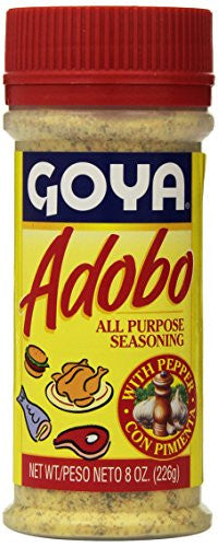 Goya Adobo All Purpose Seasoning with Pepper - 8 oz - Pacific Rim Gourmet