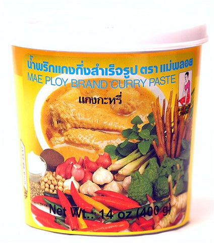 Mae Ploy Yellow Curry Paste - Pacific Rim Gourmet