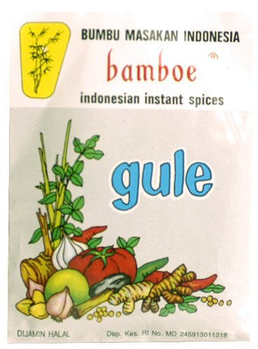 Bamboe Indonesian Instant Spices - Gule - Pacific Rim Gourmet