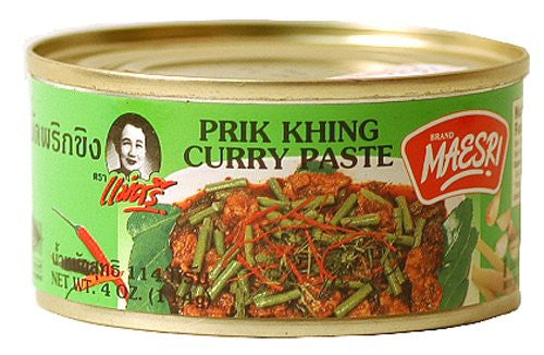 Maesri Prik Khing Curry Paste - Pacific Rim Gourmet