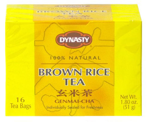 Dynasty Brown Rice Tea Bags (Genmai-Cha) - Pacific Rim Gourmet