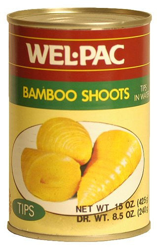 Welpac Bamboo Shoot Tips - Pacific Rim Gourmet