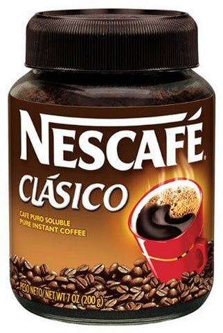 Nescafe Clasico Instant Coffee, 7-Ounce Jars - Pacific Rim Gourmet