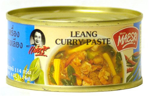 Maesri Leang Curry Paste - Pacific Rim Gourmet