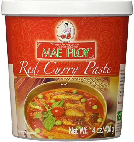 Mae Ploy Red Curry Paste - Pacific Rim Gourmet